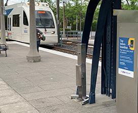 Tamper Resistant Light Rail Platform